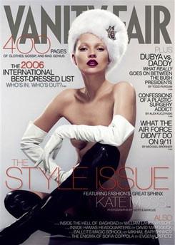Кейт Мосс, наобложках главных модных журналов планеты. Изображение № 23.