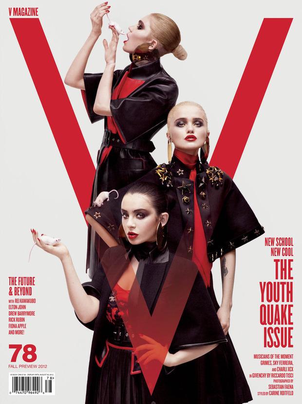 Карин Ройтфельд назначена глобальным директором моды Harper's Bazaar. Изображение № 3.