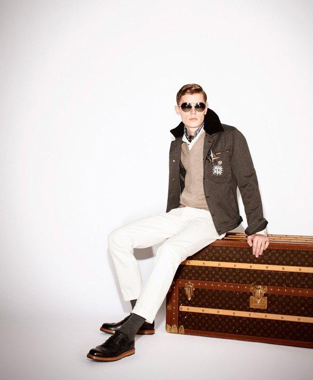 Показаны новые лукбуки Gucci, Louis Vuitton и Prada. Изображение № 15.
