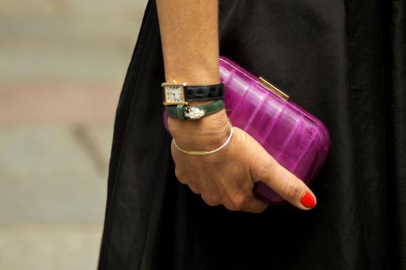 Изображение 13. Девушки на Milan Fashion Week: день 3 и 4.. Изображение № 12.