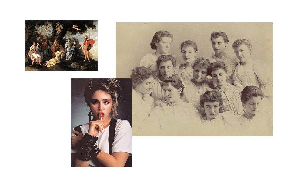 Древняя Греция, восьмидесятые, женственность. Изображение № 20.