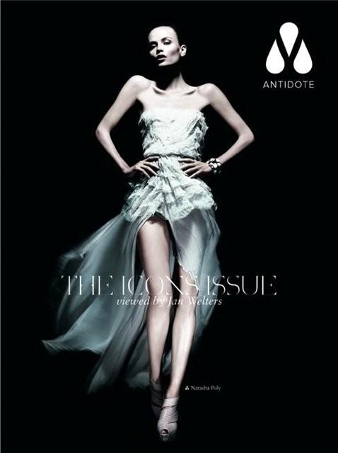 Супермодели на обложке Antidote Magazine. Изображение № 8.