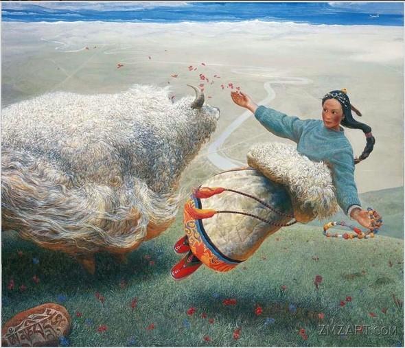 Wang Yi Guang. Feitain, или летающий пух. Изображение № 11.
