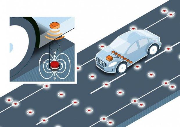 Volvo протестировала «магнитную» дорогу. Изображение № 1.