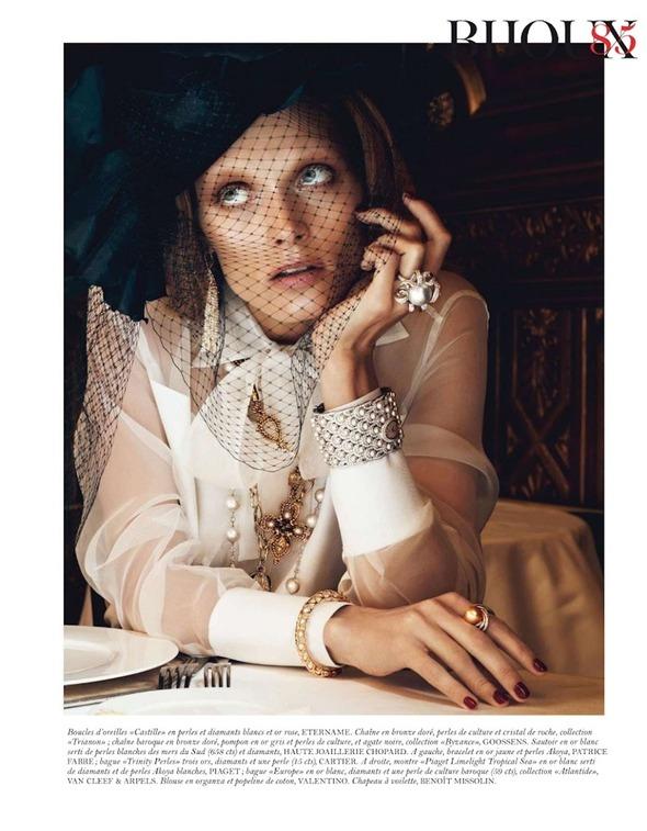 Съемки: Numero, Vogue, W и другие. Изображение №64.
