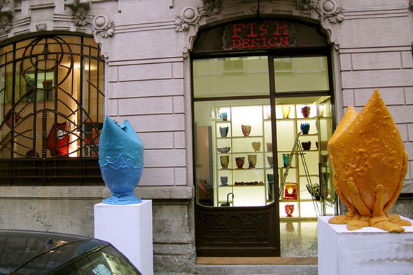 Красная рыбка итальянского дизайна Fish Design. Изображение № 64.