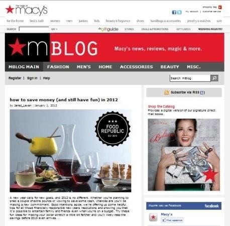 15 онлайн-журналов магазинов и марок. Изображение № 8.