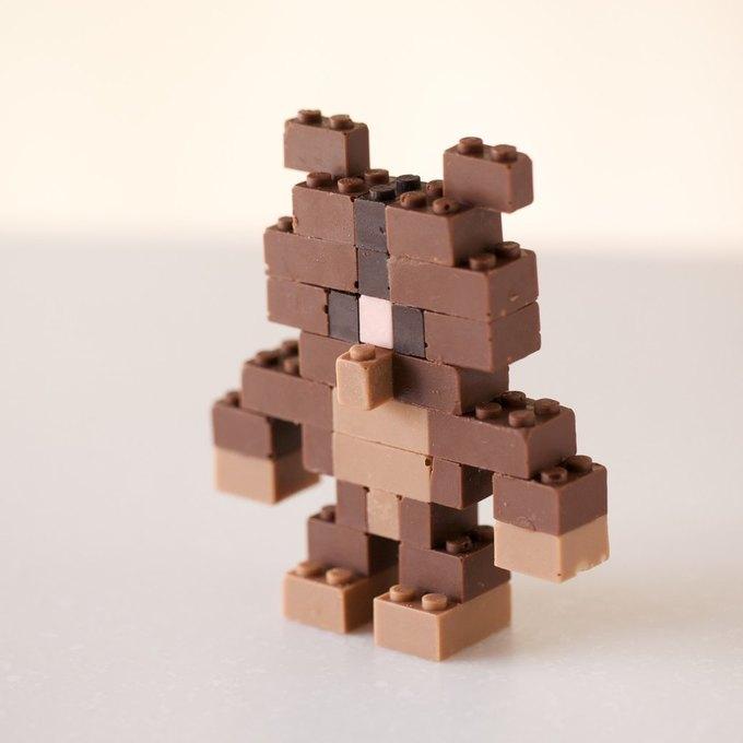 Японский дизайнер сделал LEGO из шоколада . Изображение № 9.