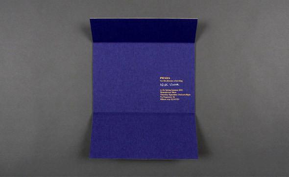 Изображение 19. Womenswear collections S/S 2011: show invitations.. Изображение № 19.