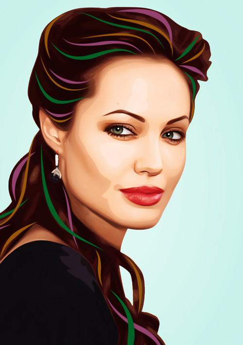 Три грации. Первая – Анджелина Джоли.  . Изображение № 8.