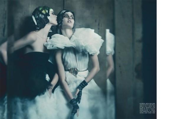 Съемка: Фрида Густавссон, Жак Ягачак и Кристина Салинович для Vogue. Изображение № 9.