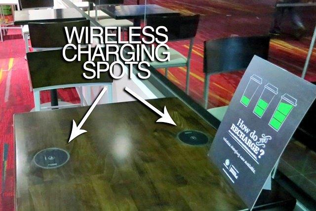 Беспроводные зарядные устройства в Starbucks. Изображение № 2.