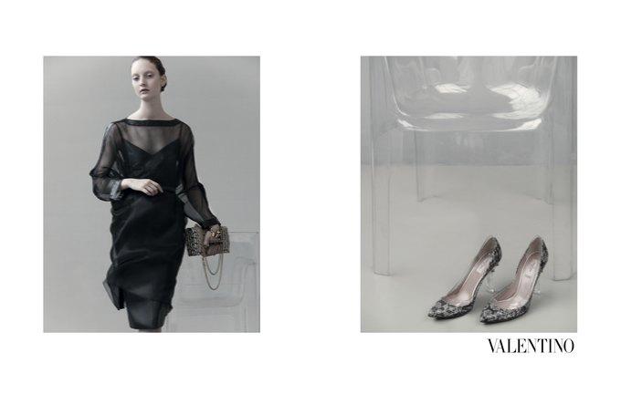 Семидесятидвухлетняя Сара Мун сняла кампанию Valentino. Изображение № 10.
