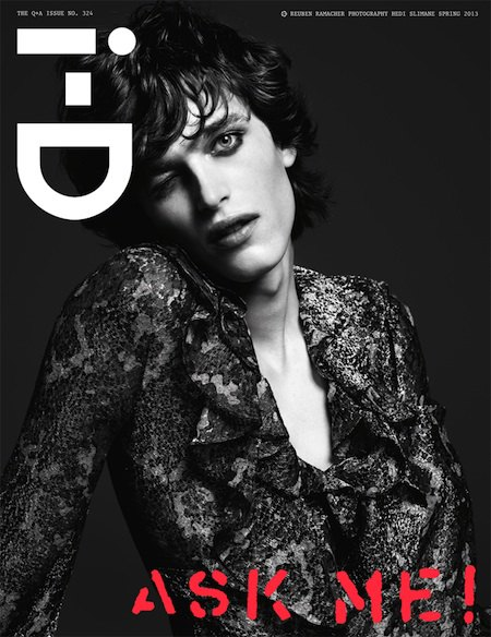 Interview, i-D и Vogue показали новые обложки. Изображение № 1.