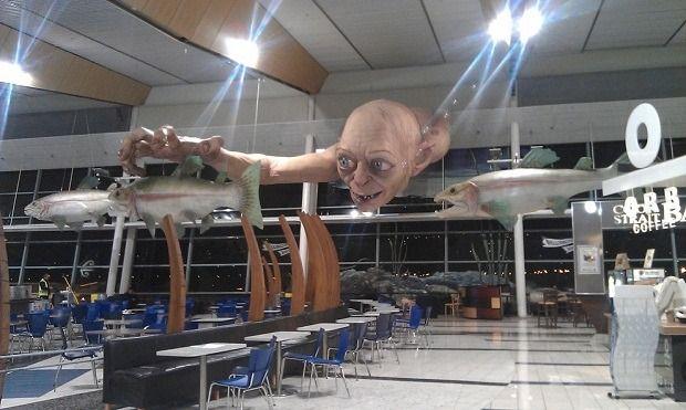 Огромная статуя Голлума из «Властелина Колец». Изображение № 5.