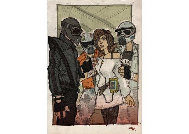 Дизайнер представил героев «Звёздных войн» в стиле 80-х. Изображение № 19.