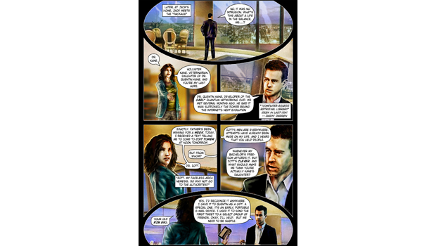 Сооснователь Twitter Джек Дорси стал героем комикса. Изображение № 3.