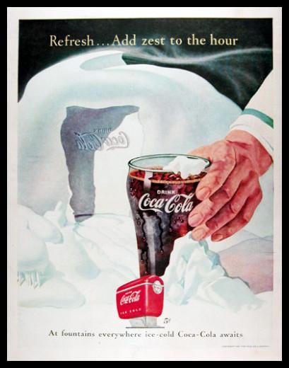 Изображение 40. Coca-cola – История бренда, история рекламы.. Изображение № 40.
