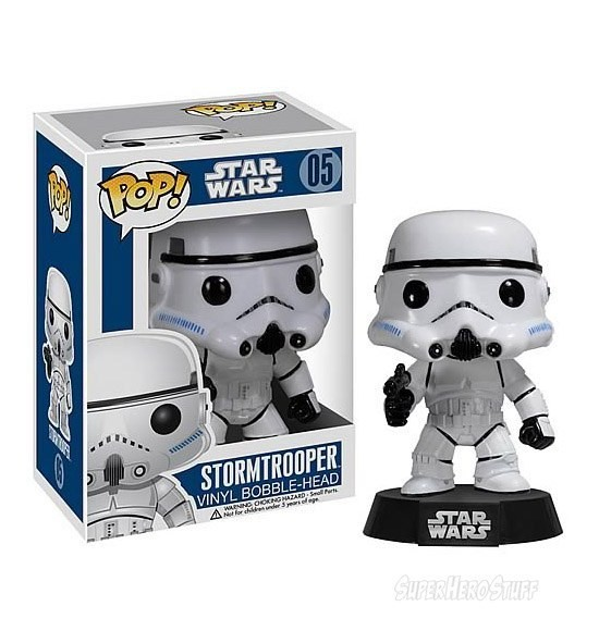 Star Wars POP Vinyl Bobble Head. Изображение № 3.