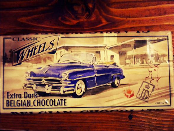 Dolce Vita! Винтажные обертки для шоколада и конфет. Изображение № 12.