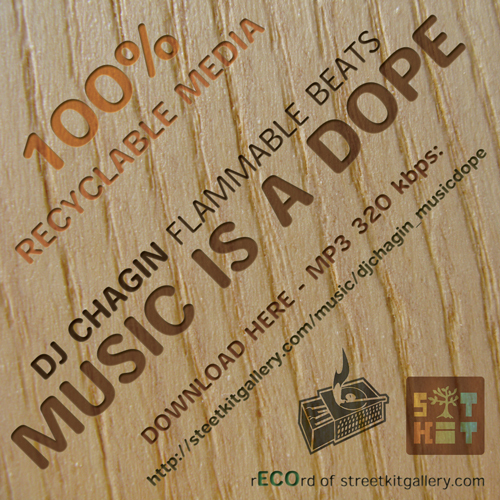 Music is Dope by Dj Chagin [Flammable Beats]. Изображение № 2.