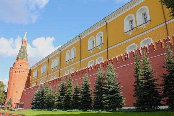 Интересные места России - Московский Кремль. Изображение № 1.