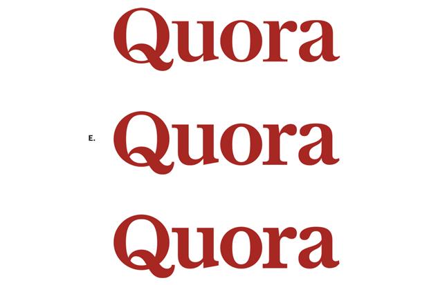 Шрифтовик рассказал о процессе редизайна логотипа Quora. Изображение № 6.