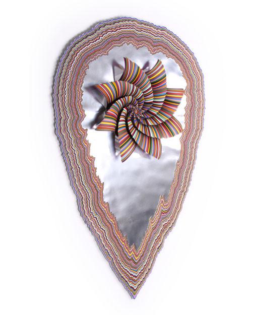 Объемные скульптуры из бумаги Jen Stark. Изображение № 19.