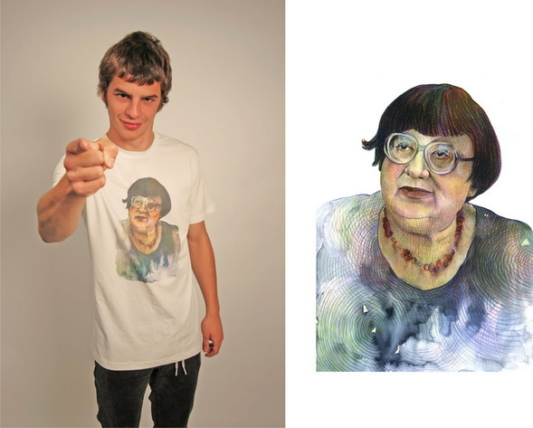 Дизайнерские футболки отT-store. Изображение № 8.