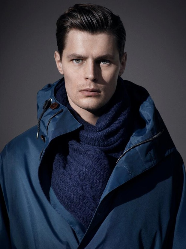 Alfred Dunhill lookbook casual wear Autumn Winter 2012. Изображение № 7.