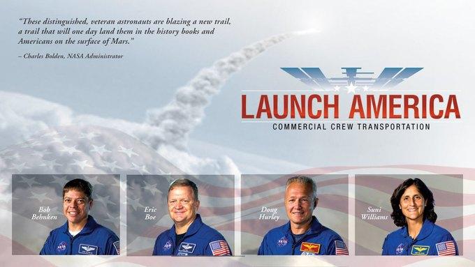 NASA назвала астронавтов для частного космоса . Изображение № 1.
