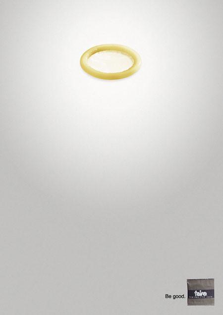 44 лучших рекламных постеров с презервативами. Изображение №15.