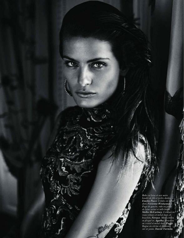 Съемка: Изабели Фонтана для Vogue Paris. Изображение № 6.