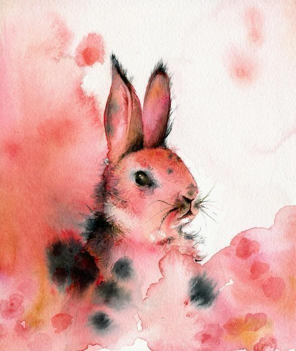 Изображение 53. Amber Alexander - животные, сияющие акварелью.. Изображение № 51.