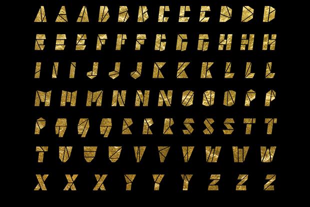 Дизайнер создал вдохновлённый Канье Уэстом шрифт . Изображение № 1.