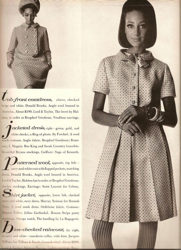 «Выгляди великолепно» каквVogue 1967 года. Изображение № 10.