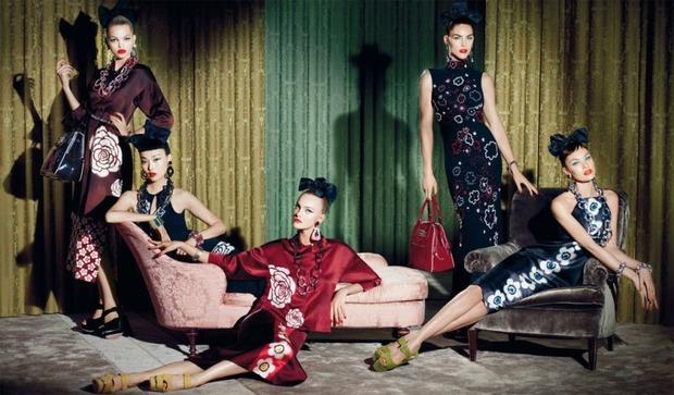 Вышли новые кампании Gucci, I am, Marella, Miu Miu, SLP и Versus. Изображение № 25.