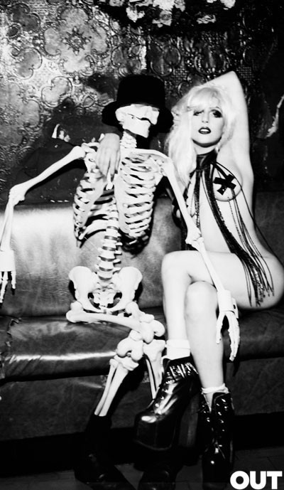 Lady Gaga дляOUT (Сентябрь 2009). Изображение № 4.
