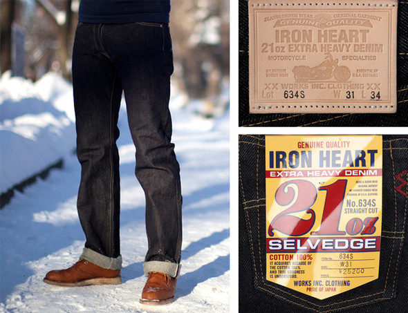 IRON HEART JAPANEESE DENIM in FOTT. Изображение № 2.