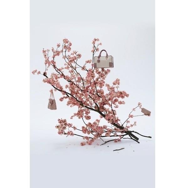 Изображение 6. Лукбук: Loewe Cherry Blossom.. Изображение № 6.