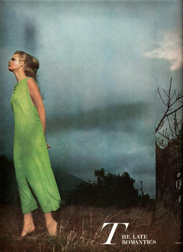 Архивная съемка: Хельмут Ньютон для Vogue. Изображение № 1.