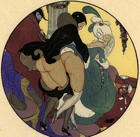 Gerda Wegener, лесбийская эротика в миниатюре. Изображение № 4.