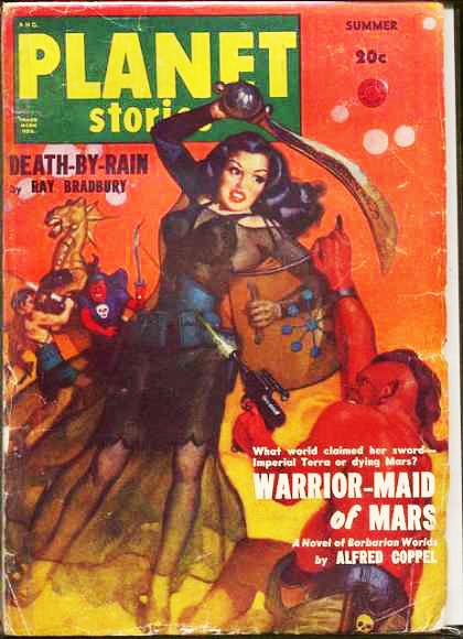 Космические обложки Pulp-журналов. Изображение № 15.