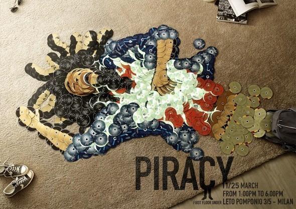 Изображение 1. Рекламная кампания: Копирайтеры против пиратства.. Изображение № 1.
