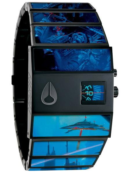 Дизайнерские модели часов Nixon отBoris Vallejo. Изображение № 4.