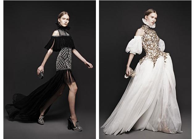 Вышли новые лукбуки Alexander McQueen и Moda Operandi. Изображение № 2.