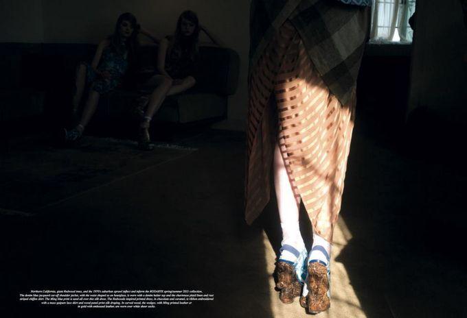 Dazed & Confused, Fat, Vogue и другие журналы выпустили новые съемки. Изображение № 21.