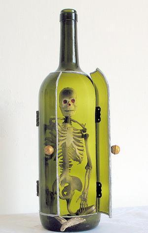 Yossi иего декорированные бутылки. Изображение № 8.
