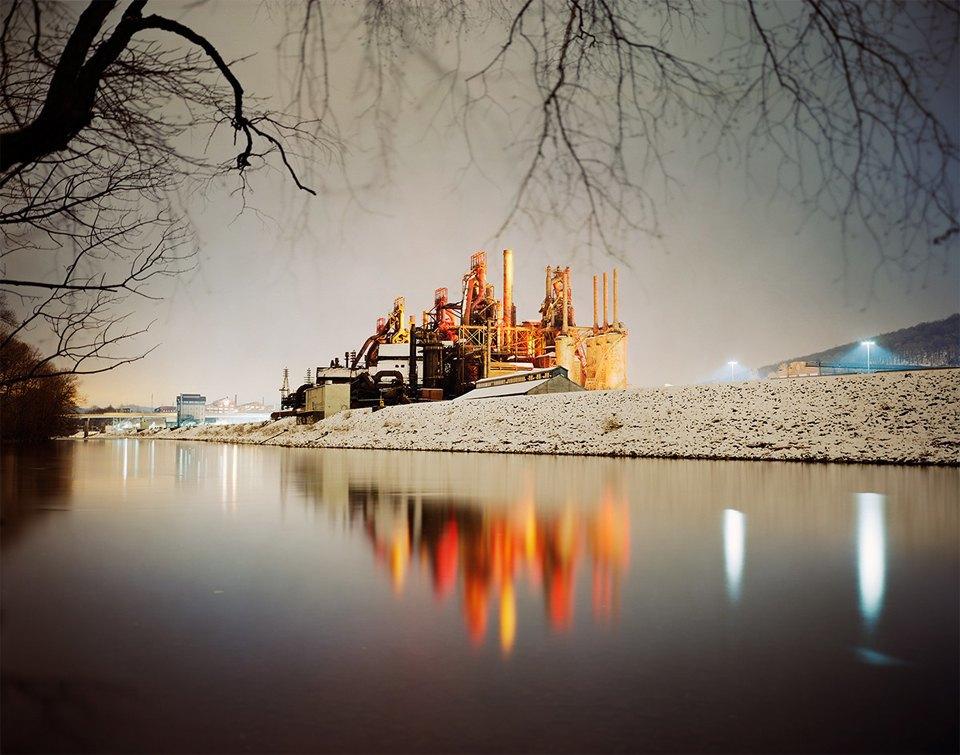 Фабрики из хоррора: ночная индустриальная фотография. Изображение № 8.