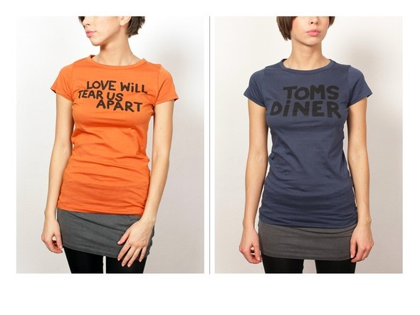Музыкальные футболки от Ganni. Изображение № 3.